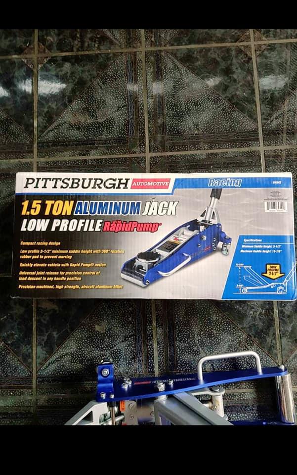 Nuevo tricket Pittsburgh de aluminio 1.5T